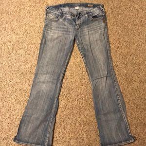 Denim - Silver jeans